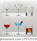 Set of vector glasses for alcohol 27972539