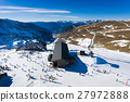 Ski resort, view from above 27972888