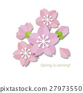 Paper style sakura design 27973550