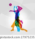 logo, vector, volleyball 27975235