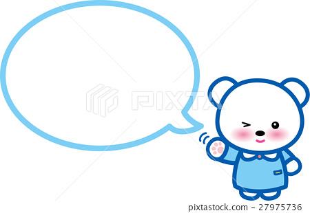 熊动物气球 27975736