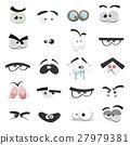 Comic Eyes Set 27979381