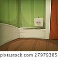 Cartoon Corner Of Room Close-Up 27979385
