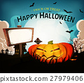 Halloween Holidays Landscape Background 27979406