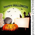Halloween Holidays Landscape Background 27979408