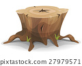 Comic Tree Stump 27979571