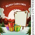 Merry Christmas Holidays Background 27979593