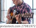 符合 吉他 手 27981972