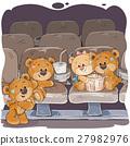 bear, teddy, vector 27982976