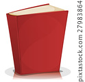 book, red, vector 27983864