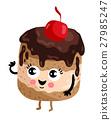 cake cupcake vector 27985247
