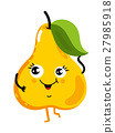 fruit, vector, pear 27985918