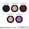 Realistic makeup cosmetics vector set 27986333
