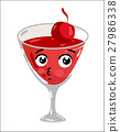 alcohol, cocktail, vector 27986338