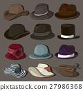 vector hat set 27986368