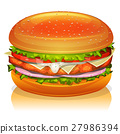Chicken Burger Icon 27986394