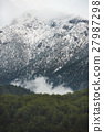 Green slopes of the Taurus mountains covered with 27987298