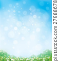 Vector summer nature  background. 27988678