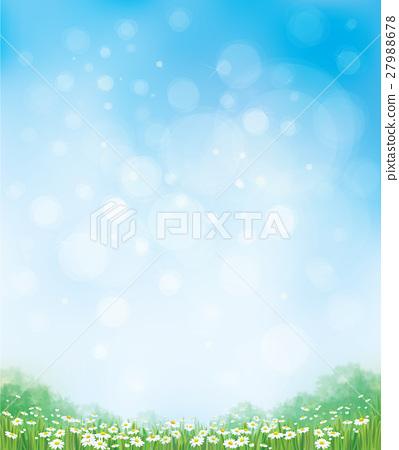 Vector summer nature  background. 27988678