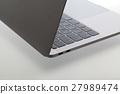 Notebook silver 13 inch german keyboard left 27989474