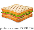 French Sandwich Icon 27990854