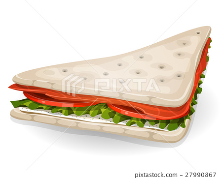 Swedish Sandwich Icon 27990867