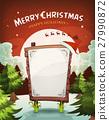 Merry Christmas Holidays Background 27990872