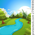mountains, landscape, summer 27990896