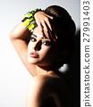 Portrait of Beautiful  woman  27991403