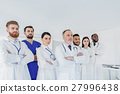 serious, stand, stethoscope 27996438