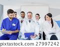 doctor, woman, talk 27997242