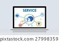 Communication Service Help Desk Concept/ 27998359