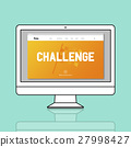 Challenge Goal Target Trial Skill Test Finish Concept 27998427