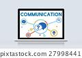 Communication Service Help Desk Concept/ 27998441