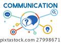 Communication Service Help Desk Concept/ 27998671