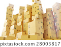 盒子 箱子 硬纸板 28003817