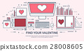 love, valentine, heart 28008605