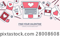 love, message, laptop 28008608