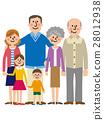 Three generations family vector 28012938