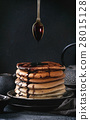 Ombre chocolate pancakes 28015128