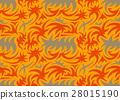 Abstract seamless pattern. vector illustration 28015190