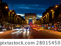 Arc de Triompthe in evening 28015450