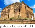 Ruined Pagoda in Mingun Paya / Mantara Gyi Paya 28016197