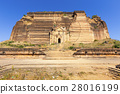 Ruined Pagoda in Mingun Paya / Mantara Gyi Paya 28016199