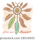 vector, bohemian, dreamcatcher 28016693