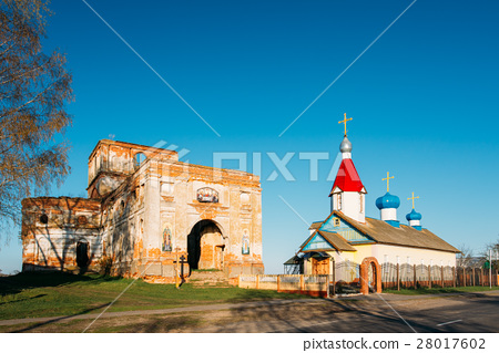 Old Ruined Orthodox Church Of The St. Nicholas In 28017602