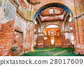 Old Ruined Orthodox Church Of The St. Nicholas In 28017609