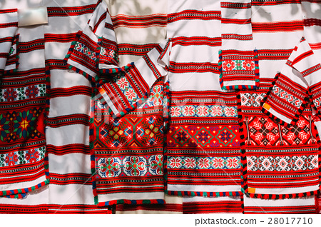 Slavic Traditional Pattern Ornament Embroidery 28017710