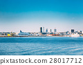 Tallinn, Estonia. Skyline Of Tallinn, Blue Clear 28017712