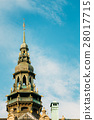 Stockholm, Sweden. Onion Dome Of Famous Old 28017715